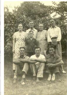 Roork Family, 1940s?