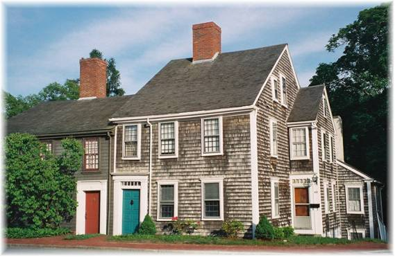 John and Sarah Jenney House in Plymouth, Massachusetts