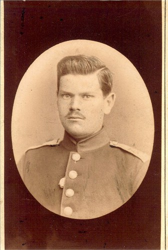 Ernst M. Boettner, Younger brother of Chris. Probably in German military uniform.