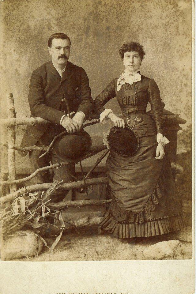 Frederick William Paget and Eliza Maude White, Wedding Photo