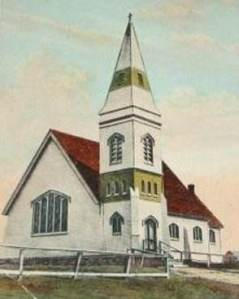 St. John's Anglican Church, Arichat, Cape Breton, NS